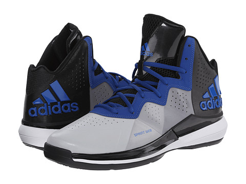 adidas - Intimidate (Clear Onix/Collegiate Royal/Black) Men's Basketball Shoes