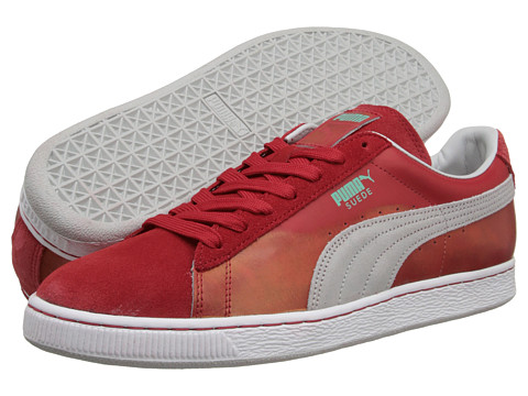 PUMA - Suede Classic (High Risk Red Glacie) Shoes