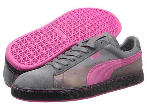 PUMA - Suede Classic (Steel Gray Beetroot) Shoes