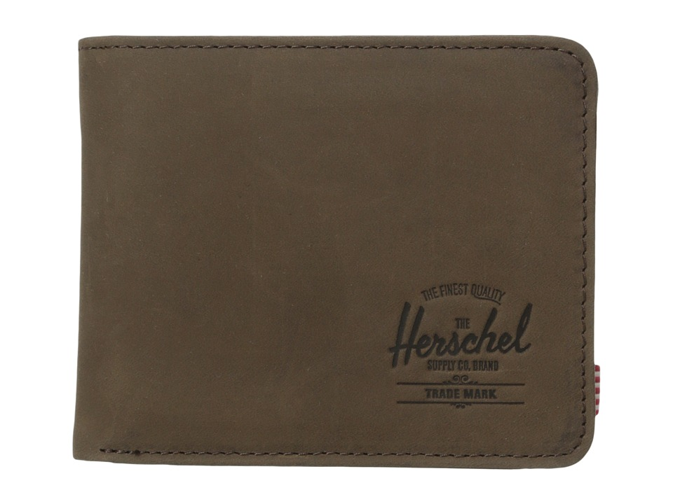 Herschel Supply Co. - Hank Coin (Brown Nubuck) Wallet Handbags