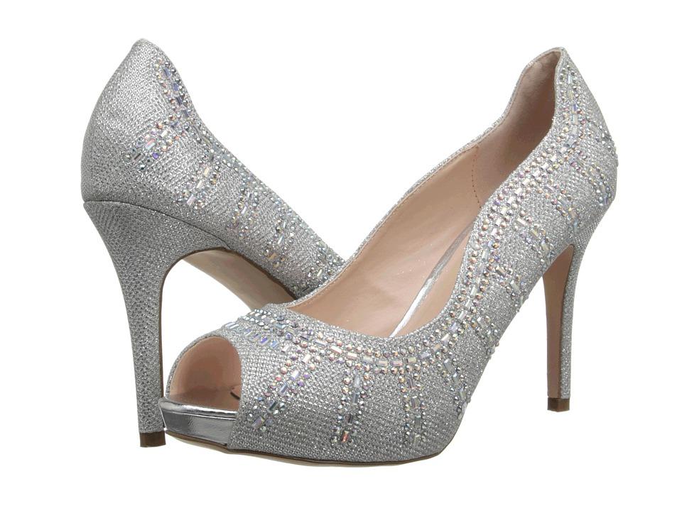 Coloriffics - Angela (Silver) High Heels