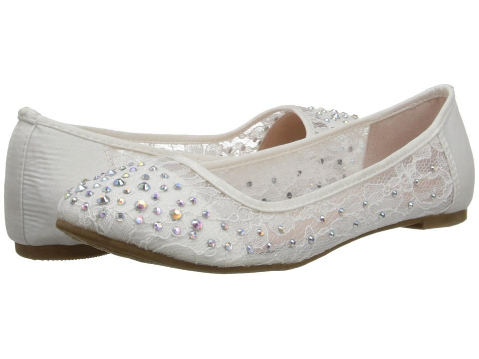 Coloriffics - Evelyn (White) Women's Dress Flat Shoes