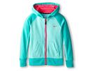 Nike Kids KO 2.0 FZ Hoody (Little Kids/Big Kids) (Bleached Turquoise/Hyper Jade/Hyper Pink/Hyper Pink)