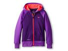 Nike Kids KO 2.0 FZ Hoody (Little Kids/Big Kids) (Court Purple/Hyper Grape/Hyper Punch/Hyper Punch)