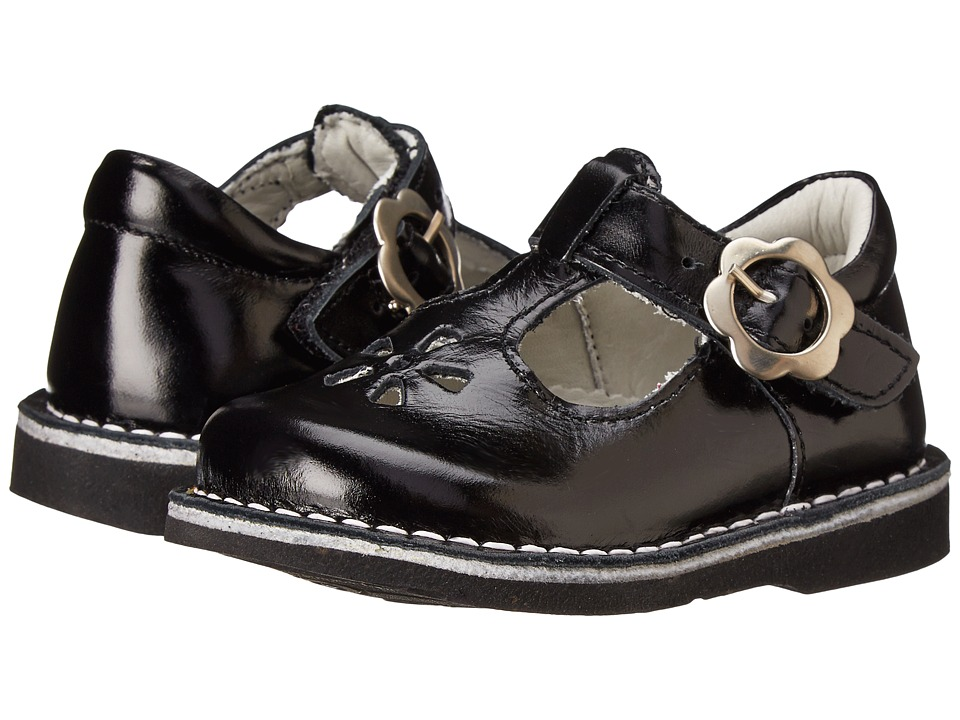 Kid Express - Molly (Toddler/Little Kid/Big Kid) (Black Burnished) Girls Shoes