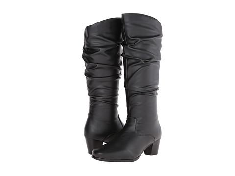 David Tate - Pacific (Black PU) Women's Boots