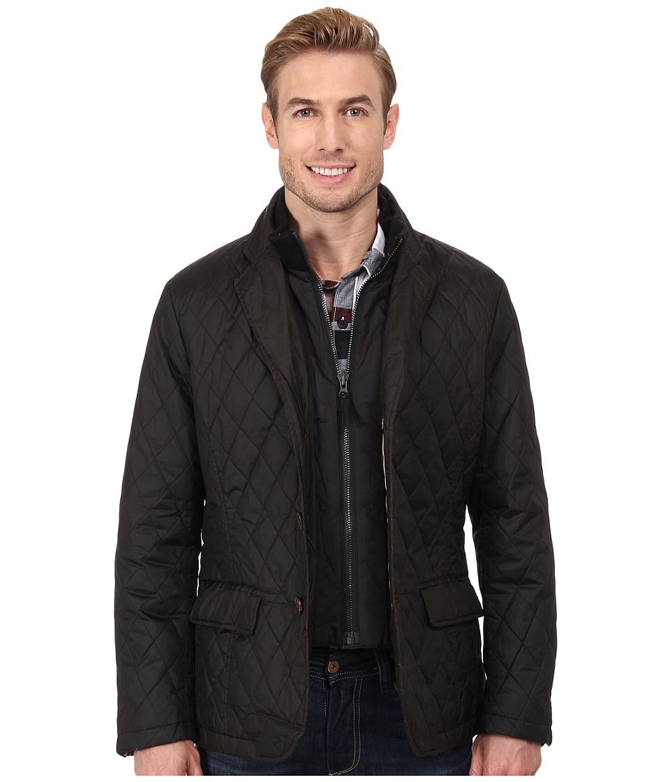 Rainforest - Quilted Blazer With Detach Bib (Curry) Men