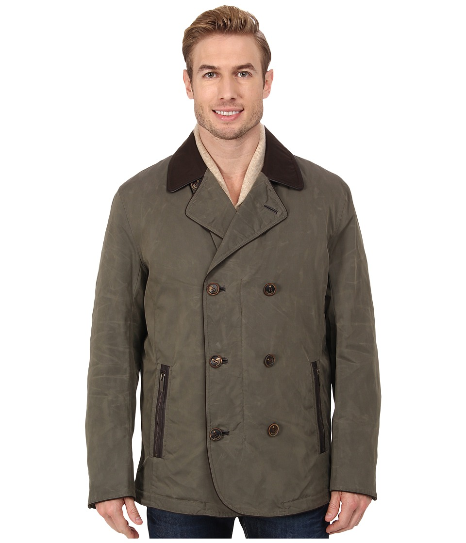 Rainforest - Double Breasted Jacket (Tarmac) Men's Coat