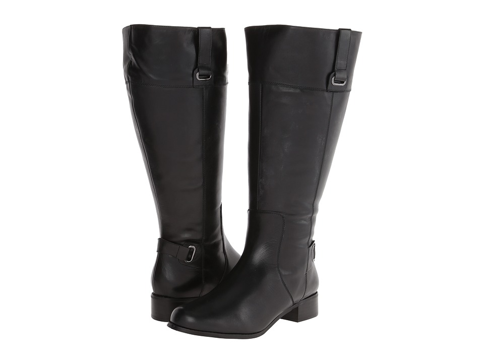 Fitzwell - Magical Extra Wide Calf (Black Calf) Women's Boots