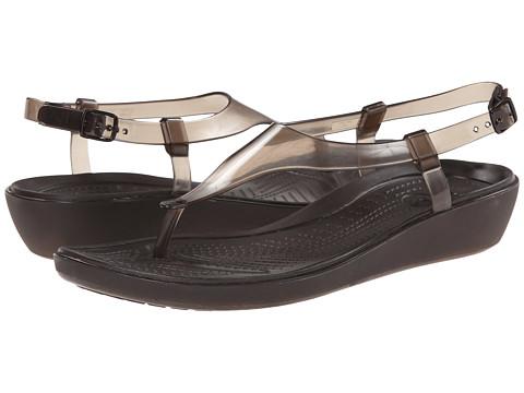 Crocs - Really Sexi T-Strap Sandal (Espresso/Espresso) Women