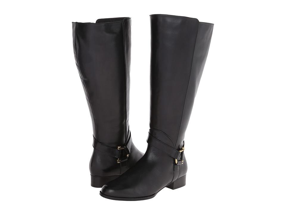 Fitzwell - Adam Wide Calf (Black Calf) Women's Boots