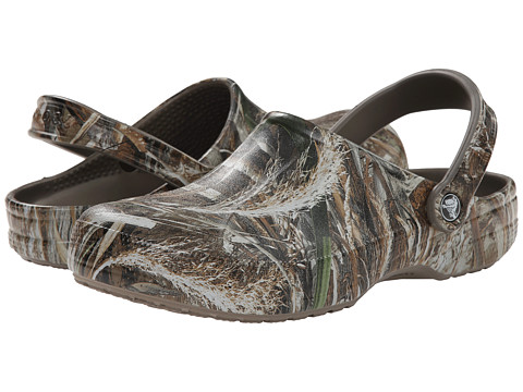 Crocs - Trackback Realtree Max-5 Clog (Chocolate) Clog/Mule Shoes