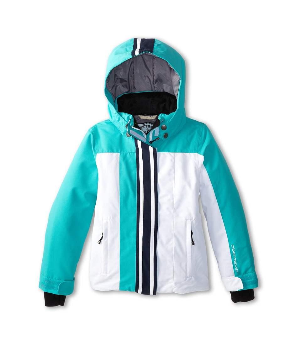 Obermeyer Kids - Kai Jacket (Little Kids/Big Kids) (White) Girl's Coat