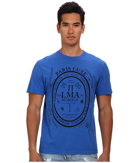 Pierre Balmain - Paris Luxe Graphic Tee (Blue) Men