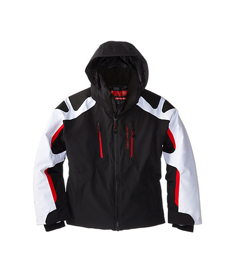 Obermeyer Kids - Mach 6 Jacket (Little Kids/Big Kids) (Black) Boy's Coat