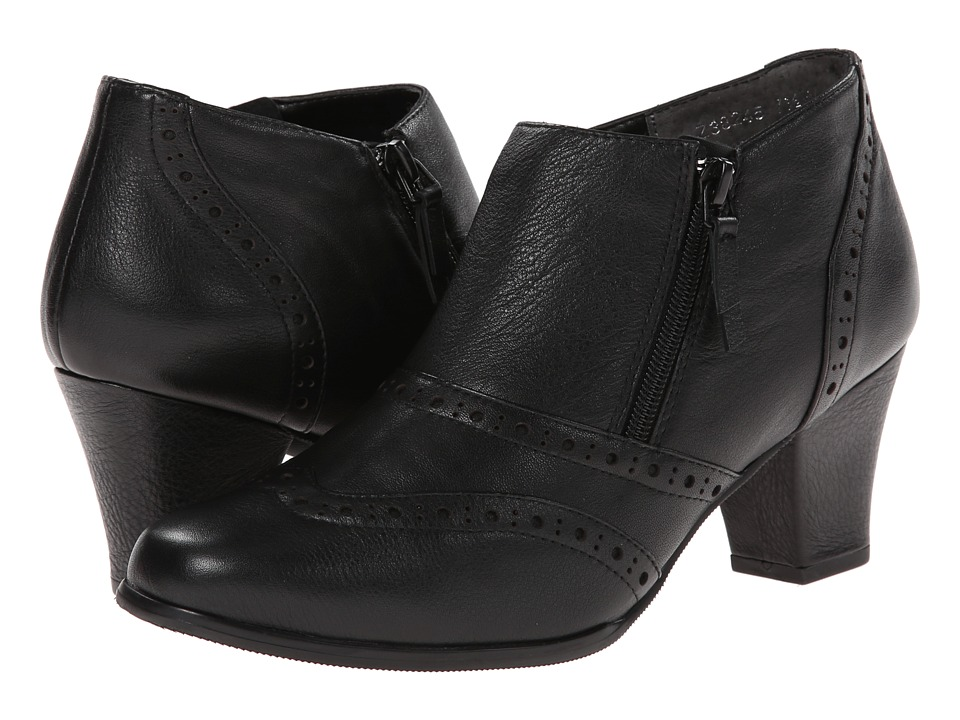 Fitzwell - Major (Black Porto Calf) Women