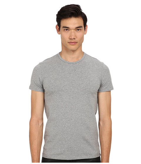 Versace - Iconic S/S Crew Neck Tee (Light Grey) Men