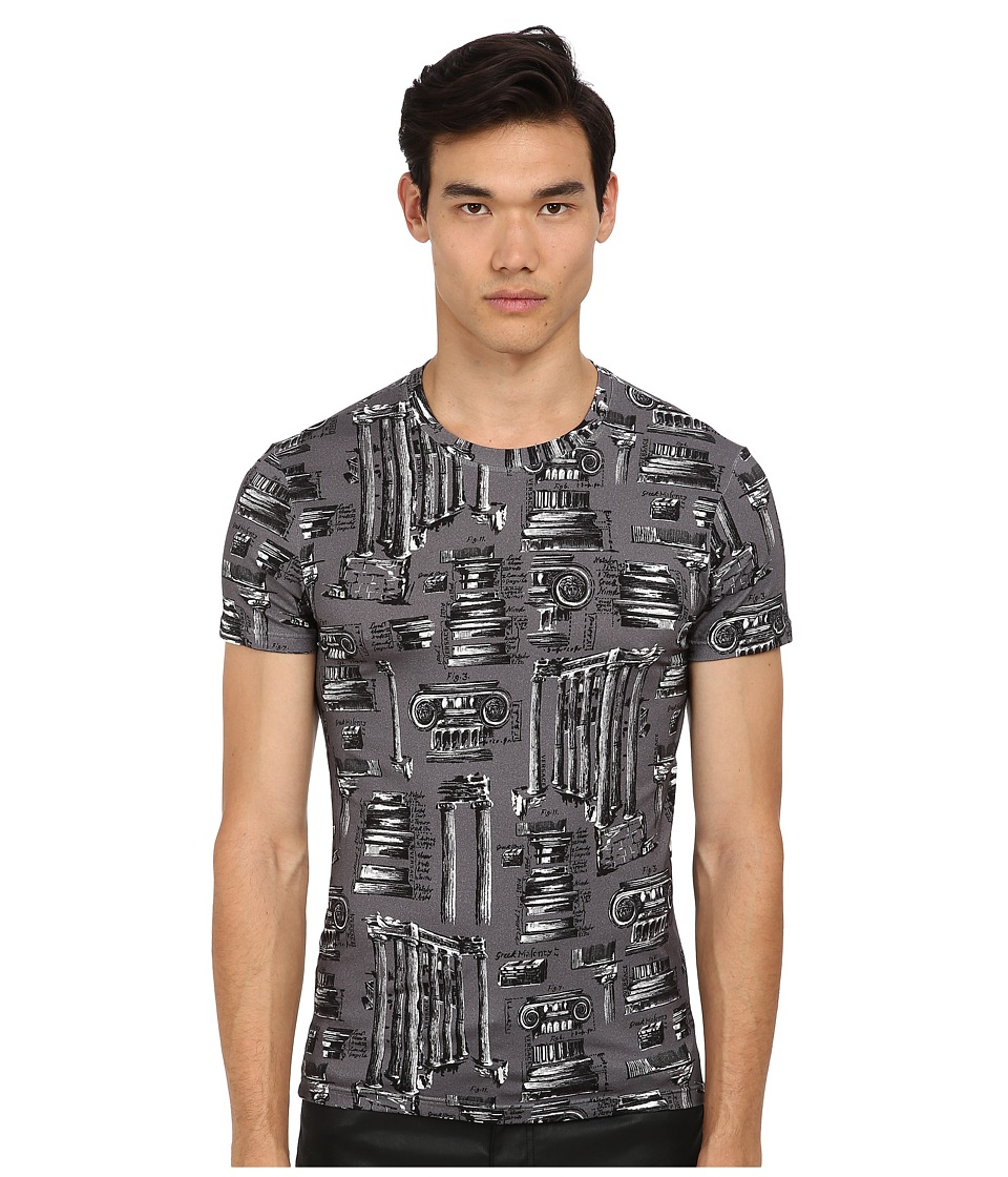 Versace - Olympus Greek Print Tee (Olympus) Men's T Shirt