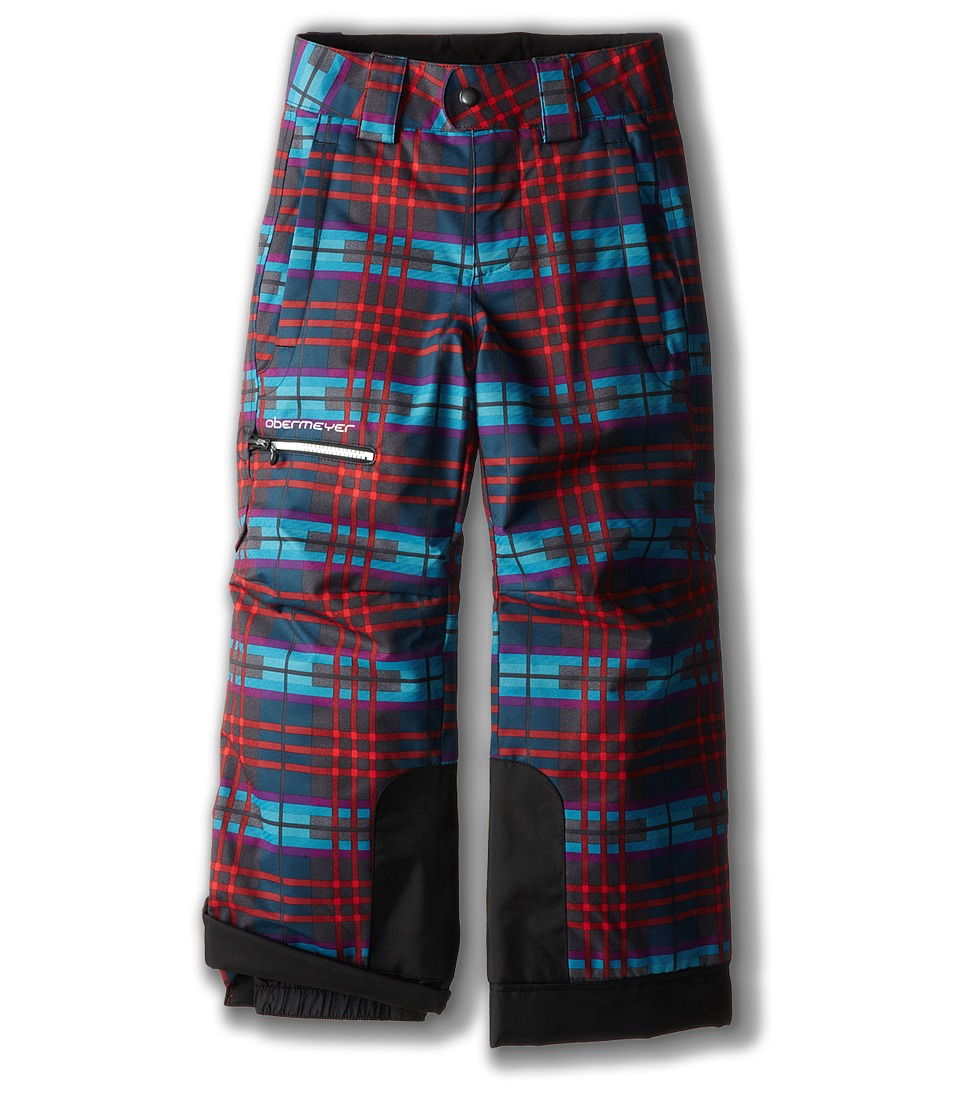 Obermeyer Kids - Prophet Pant (Toddler/Little Kids/Big Kids) (Electric Wolf Plaid) Boy's Casual Pants