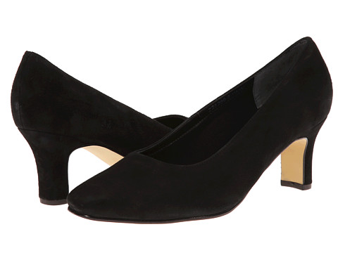 Fitzwell - Vincent Pump (Black Suede) High Heels
