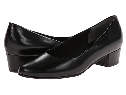 Fitzwell - Ellen (Black Kid) Women's 1-2 inch heel Shoes
