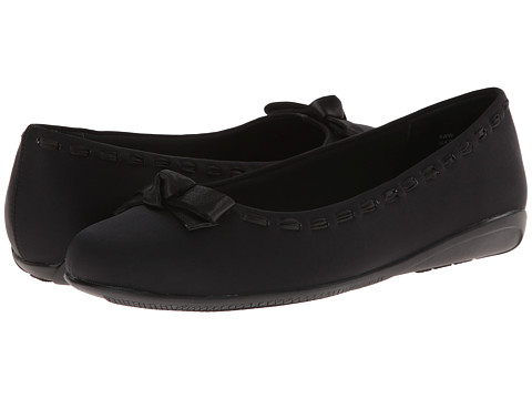 Fitzwell - Flip (Black Micro) Women's Flat Shoes