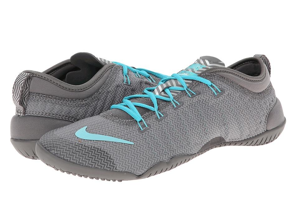 Nike - Free 1.0 Cross Bionic (Light Ash/Dusty Cactus/Medium Ash/Hyper Turquoise) Women