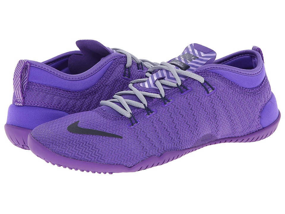 Nike - Free 1.0 Cross Bionic (Hyper Grape/Wolf Grey/Hydrangeas/Obsidian) Women's Cross Training Shoes
