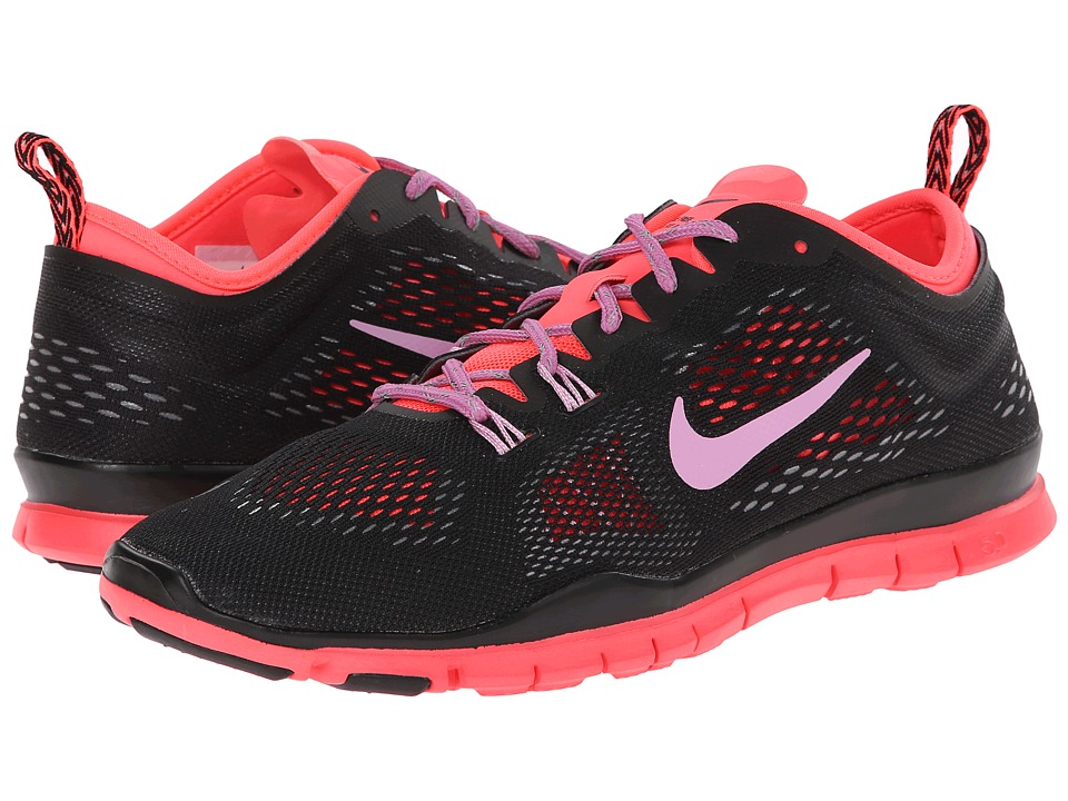 Nike - Free 5.0 TR Fit 4 (Black/Hyper Punch/Cool Grey/Light Magenta) Women's Running Shoes