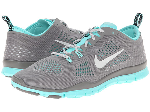 Nike - Free 5.0 TR Fit 4 (Light Ash/Hyper Turquoise/Light Ash Grey) Women's Running Shoes
