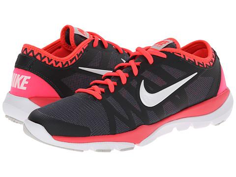 Nike - Flex Supreme TR 3 (Dark Grey/Anthracite/Hyper Punch/White) Women