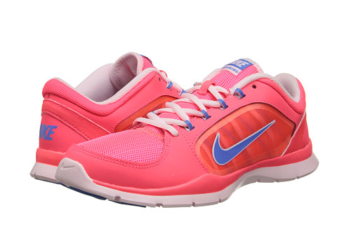 Nike - Flex Trainer 4 (Hyper Punch/Arctic Pink/Heritage Blue) Women's Cross Training Shoes