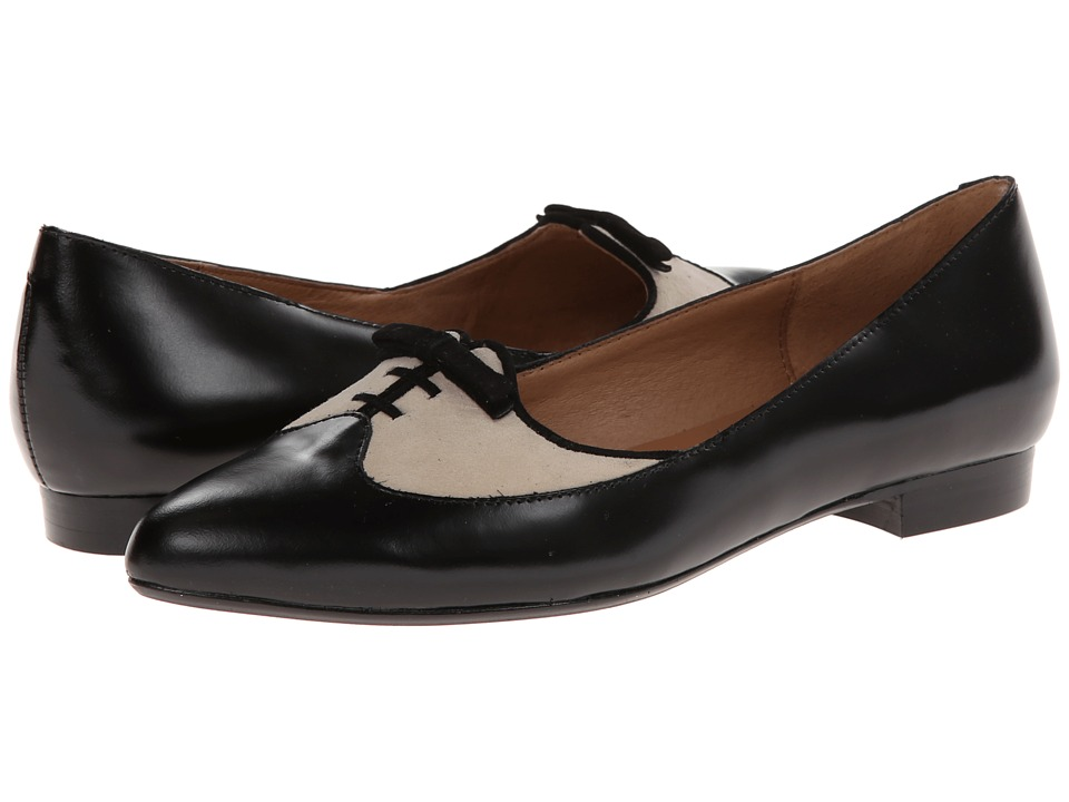 Nina Originals - Quill (Black/Angora) Women's Slip-on Dress Shoes