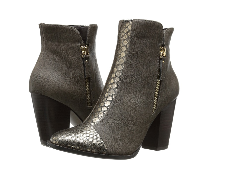 Nina Originals - Clip (Greige Kid Skin) Women's Boots