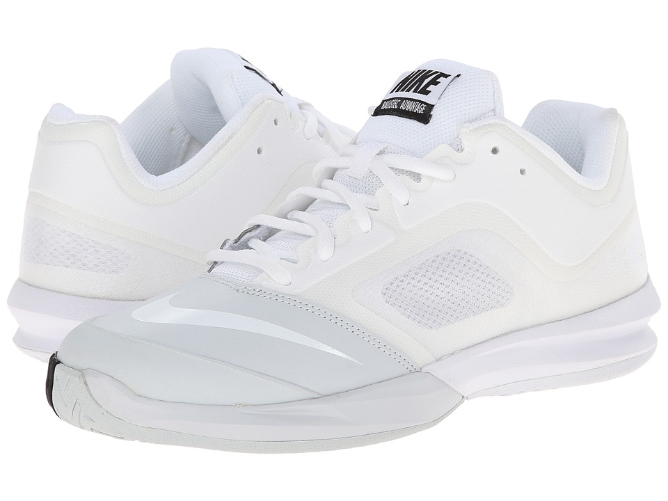 Nike - DF Ballistec Advantage (White/Pure Platinum/Black/White) Women's Tennis Shoes