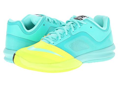 Nike - DF Ballistec Advantage (Bleached Turquoise/Volt/Dark Ash/Bleached Turquoise) Women's Tennis Shoes
