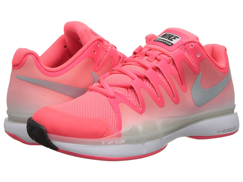 Nike - Zoom Vapor 9.5 Tour (Hyper Punch/White/Dark Ash/Silver Wing) Women's Tennis Shoes
