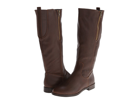 Pink & Pepper - Zipit (Brown) Women's Boots