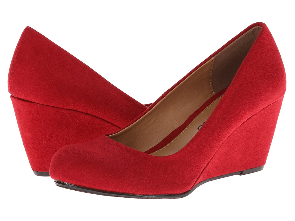Dirty Laundry - DL Not Me (Chili Red) Women's Wedge Shoes