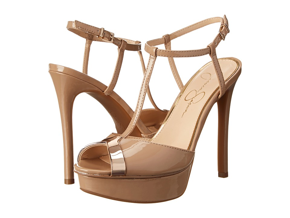 Jessica Simpson - Carys (Nude Patent) High Heels