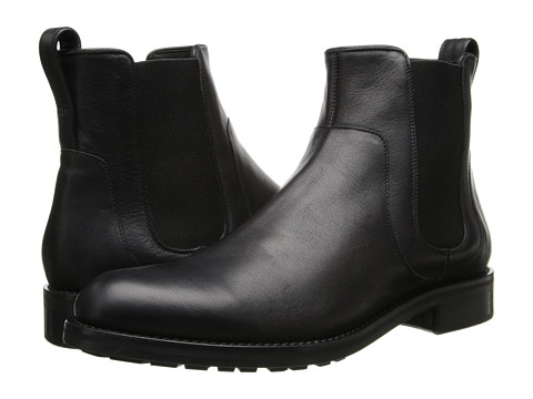 Vince - Connor (Black Revolver Calf) Men's Shoes