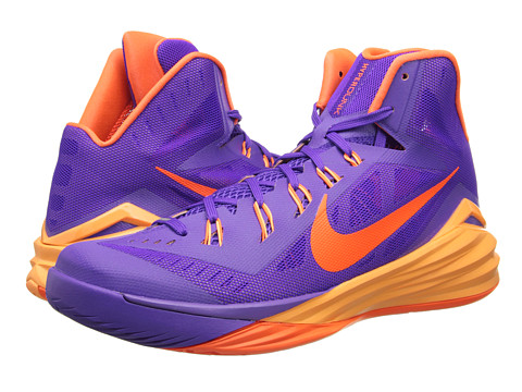Nike - Hyperdunk 2014 (Hyper Grape/Peach Cream/Cave Purple/Hyper Crimson) Men