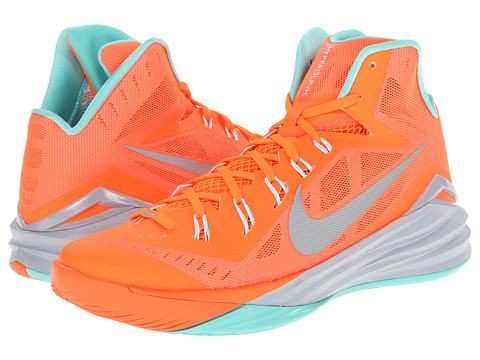 Nike - Hyperdunk 2014 (Hyper Crimson/Light Magnet Grey/Hyper Turquoise/Reflect Silver) Men