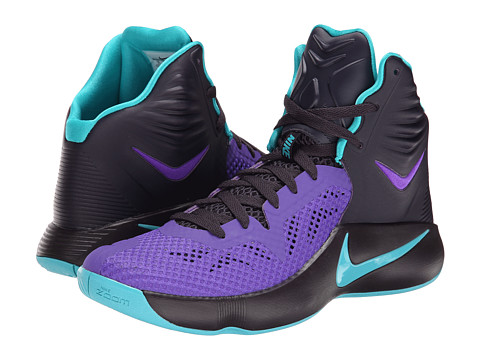 Nike - Zoom Hyperfuse 2014 (Cave Purple/Hyper Grape/Dusty Cactus) Men's Basketball Shoes
