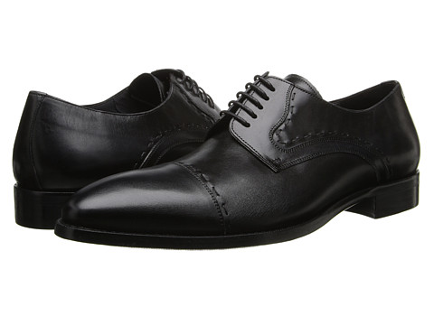Mezlan - Lombardo (Black) Men's Lace up casual Shoes