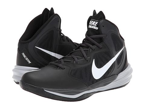 Nike - Prime Hype DF (Black/Anthracite/Dark Grey/White) Men's Basketball Shoes