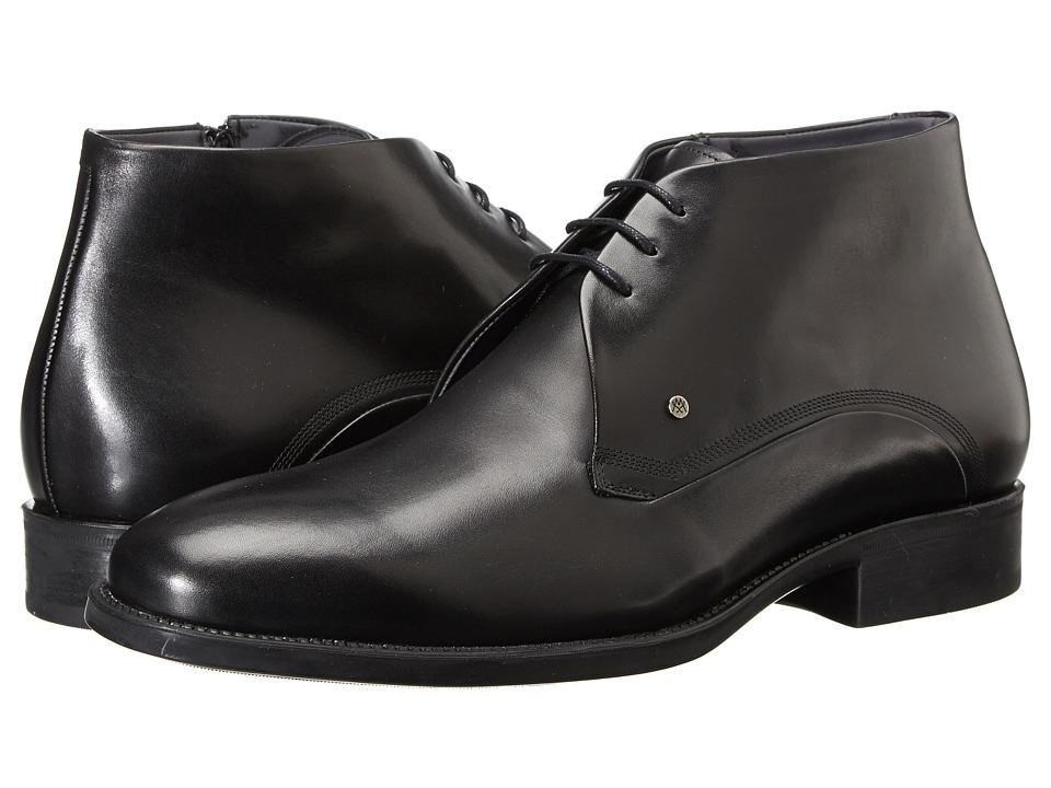 Mezlan - Grassi (Black) Men's Lace up casual Shoes