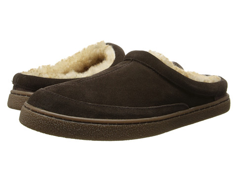 Hush Puppies Slippers - Longleaf (Espresso) Men's Slippers