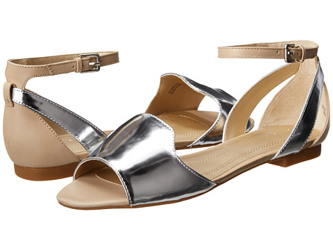 Tahari - Francie (Silver/Sand) Women's Shoes