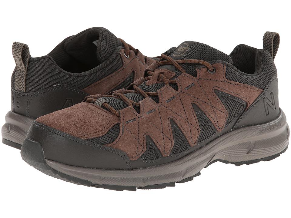 New Balance - MW799 (Brown/Black) Men's Walking Shoes